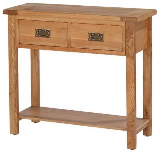 Cherington Oak Console Table