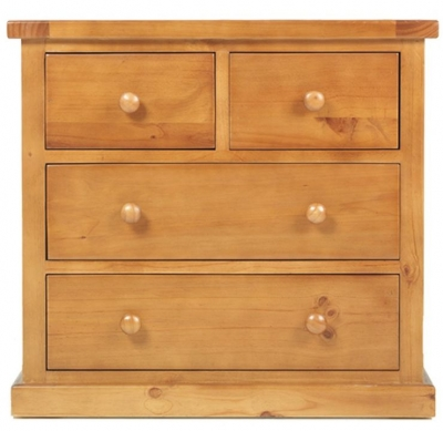 Churchill Pine 2+2 Drawer Chest