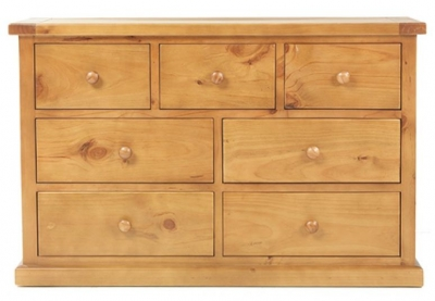 Churchill Pine 4+3 Drawer Chest