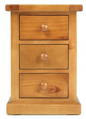 Churchill Pine Large Bedside Cabinet