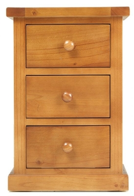 Churchill Pine Small Bedside Cabinet