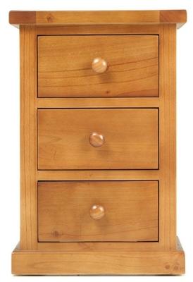 Churchill Pine Small Bedside Cabinet