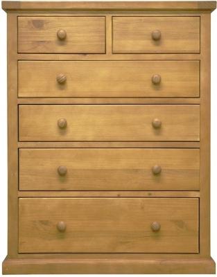 Churchill Pine 4+2 Drawer Chest