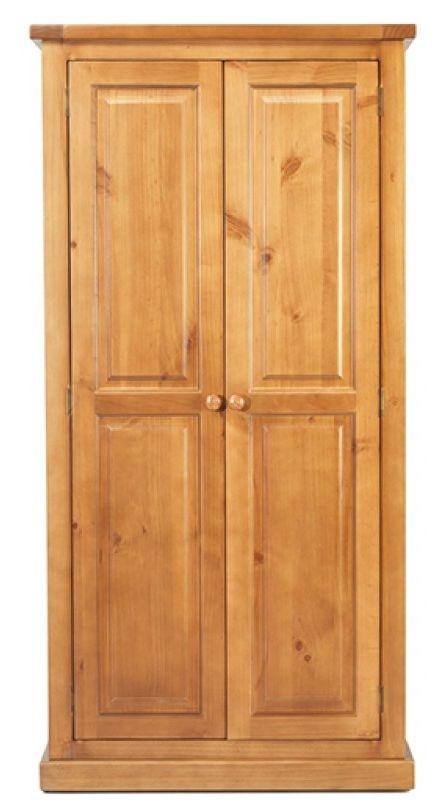 Churchill Pine 2 Door Ladies Wardrobe