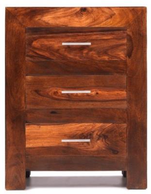 Kuba Sheesham Bedside Cabinet