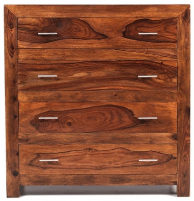 Kuba Sheesham 4 Drawer Chest
