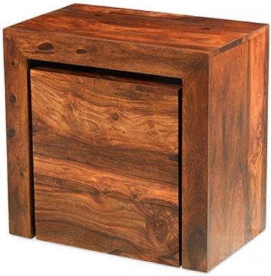 Kuba Sheesham Cube Nest