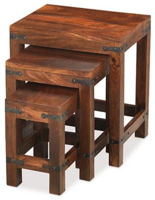 Mica Sheesham Nest of Tables