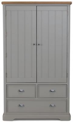 Sorrento Grey Painted Larder Unit