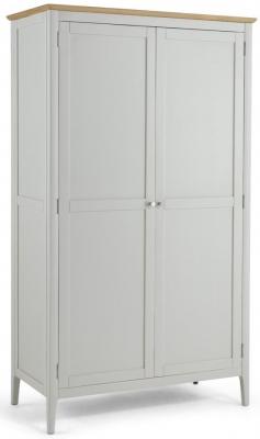 Stanford Grey Painted 2 Door Wardrobe