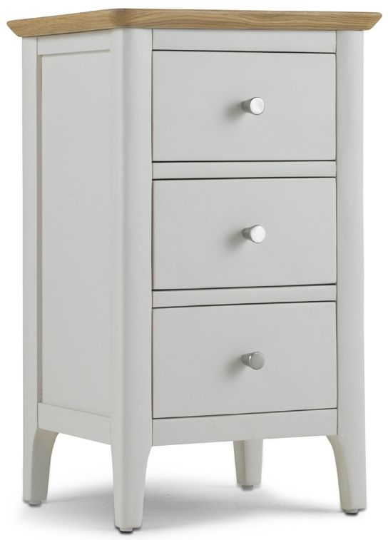 Stanford Grey Painted Bedside Cabinet