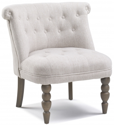 Cary Natural Fabric Chair