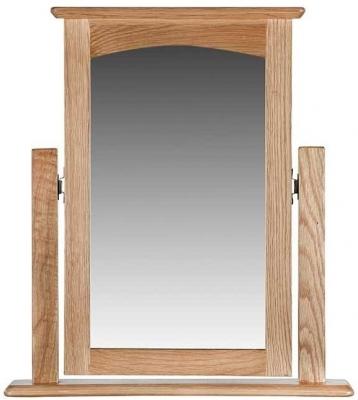 Lowell Natural Oak Vanity Mirror