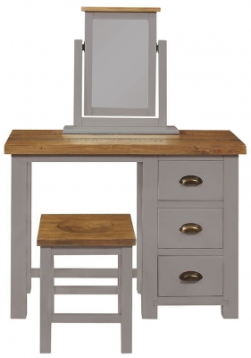 Regatta Grey Painted 3 Drawer Dressing Table