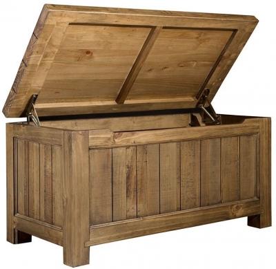Regatta Rustic Pine Blanket Box