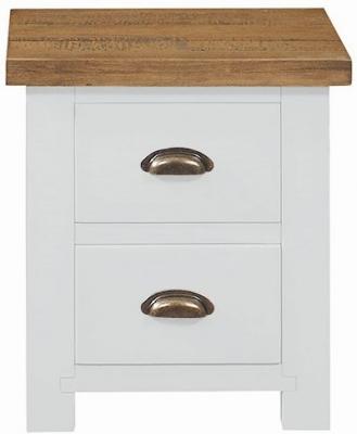 Regatta White Painted Bedside Cabinet