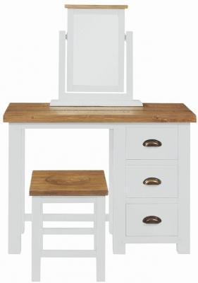 Regatta White Painted 3 Drawer Dressing Table