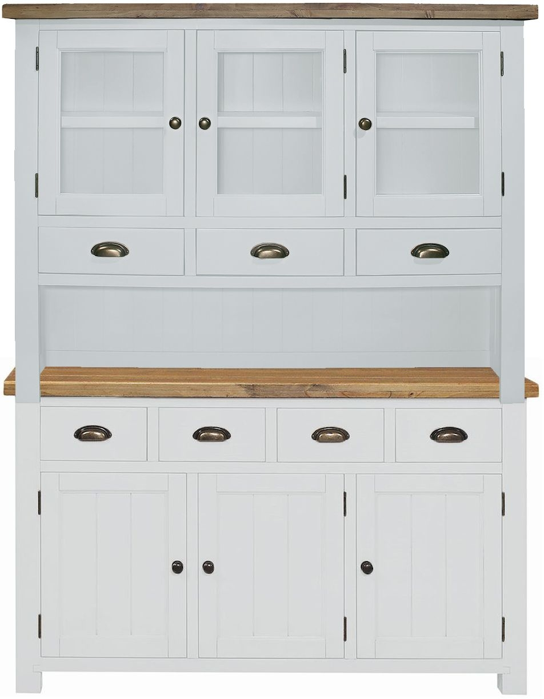 Regatta White Painted Large Dresser