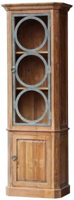 Renton Industrial Old Pine Cabinet