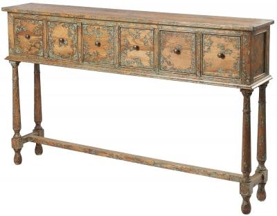 Renton Oak Console Table