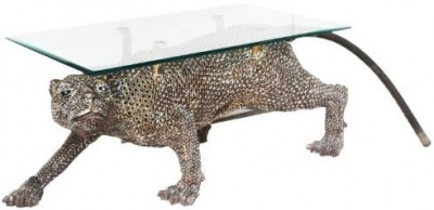 Metal Art Panther Centre Coffee Table