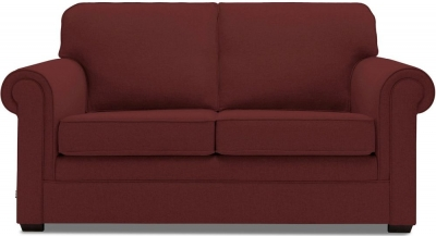 Jay-Be Classic Pocket Sprung 2 Seater Fabric Sofa Bed - Berry
