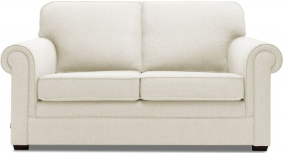 Jay-Be Classic Pocket Sprung 2 Seater Fabric Sofa Bed - Cream