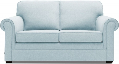 Jay-Be Classic Pocket Sprung 2 Seater Fabric Sofa Bed - Duck Egg