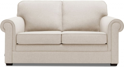 Jay-Be Classic Pocket Sprung 2 Seater Fabric Sofa Bed - Mink