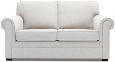 Jay-Be Classic Pocket Sprung 2 Seater Fabric Sofa Bed - Stone