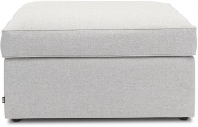 Jay-Be Footstool Airflow Fibre Mattress Fabric Bed - Stone