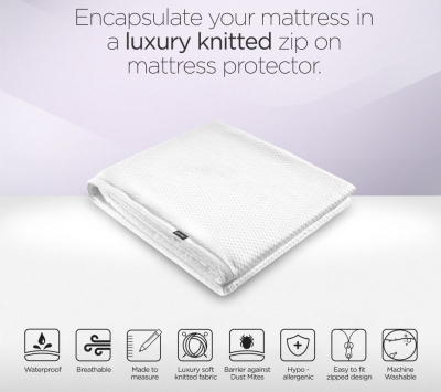 Jay-Be Supreme Small Double Folding Bed Mattress Protector