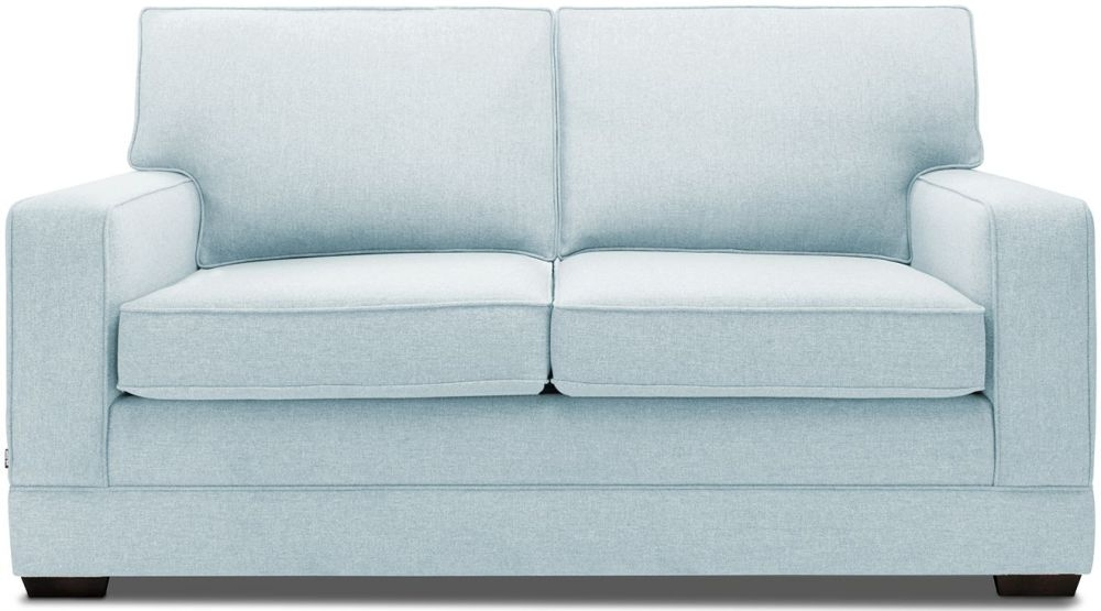 Jay-Be Modern Pocket Sprung 2 Seater Fabric Sofa Bed - Duck Egg