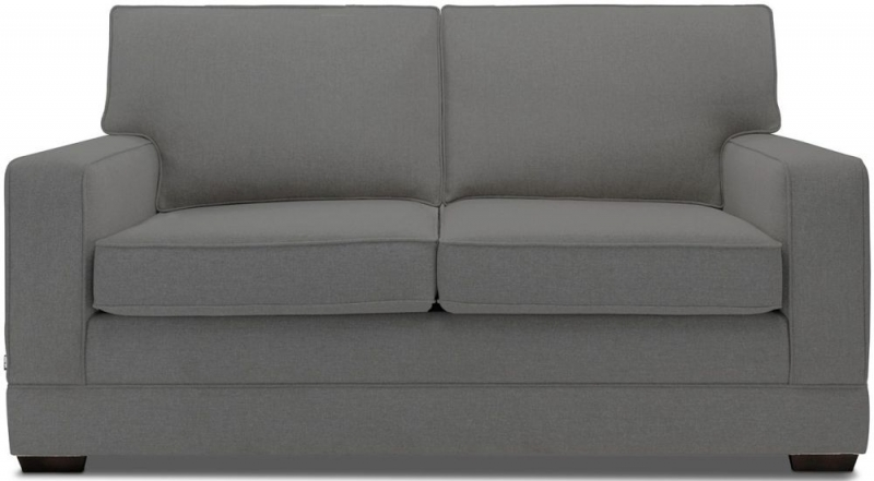 Jay-Be Modern Pocket Sprung 2 Seater Fabric Sofa Bed - Slate