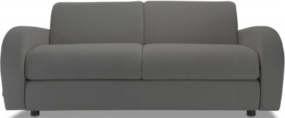 Jay-Be Retro Deep Sprung Mattress 3 Seater Fabric Sofa Bed - Slate