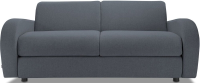 Jay-Be Retro Luxury Reflex Foam 3 Seater Fabric Sofa - Denim