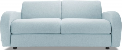 Jay-Be Retro Luxury Reflex Foam 3 Seater Fabric Sofa - Duck Egg
