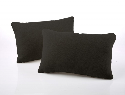 Jay-Be Rectangular Scatter Cushion (Pair) - Charcoal