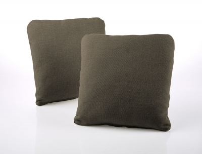 Jay-Be Square Scatter Cushion (Pair) - Bark