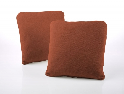Jay-Be Square Scatter Cushion (Pair) - Copper