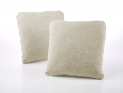 Jay-Be Square Scatter Cushion (Pair) - Cream