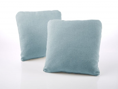 Jay-Be Square Scatter Cushion (Pair) - Duck Egg