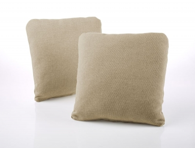 Jay-Be Square Scatter Cushion (Pair) - Gold