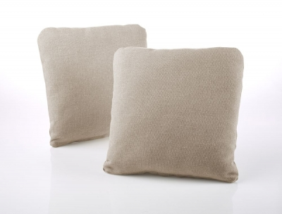 Jay-Be Square Scatter Cushion (Pair) - Mink