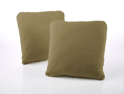 Jay-Be Square Scatter Cushion (Pair) - Olive