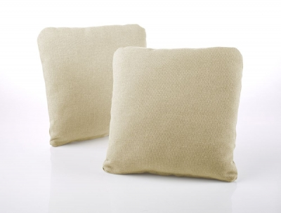 Jay-Be Square Scatter Cushion (Pair) - Sand