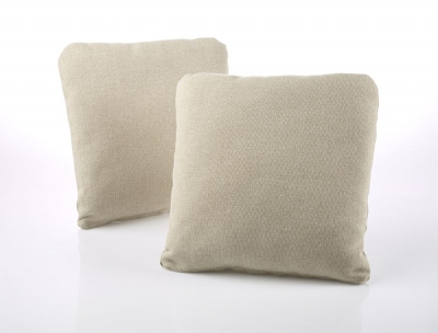 Jay-Be Square Scatter Cushion (Pair) - Stone