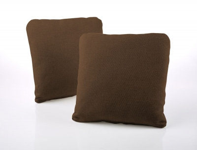 Jay-Be Square Scatter Cushion (Pair) - Tan