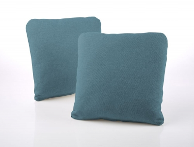 Jay-Be Square Scatter Cushion (Pair) - Teal