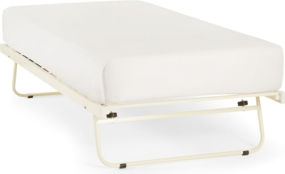 Ivory Metal Guest Bed